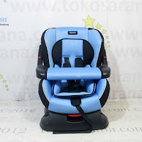 Convertible Baby Car Seat BabyDoes BD870 with Safety Bar and Extra Seat Pad Group 0+ dan Group 1 (0 - 18kg)