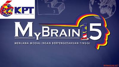 Permohonan Biasiswa MyBrain15 2018 Online