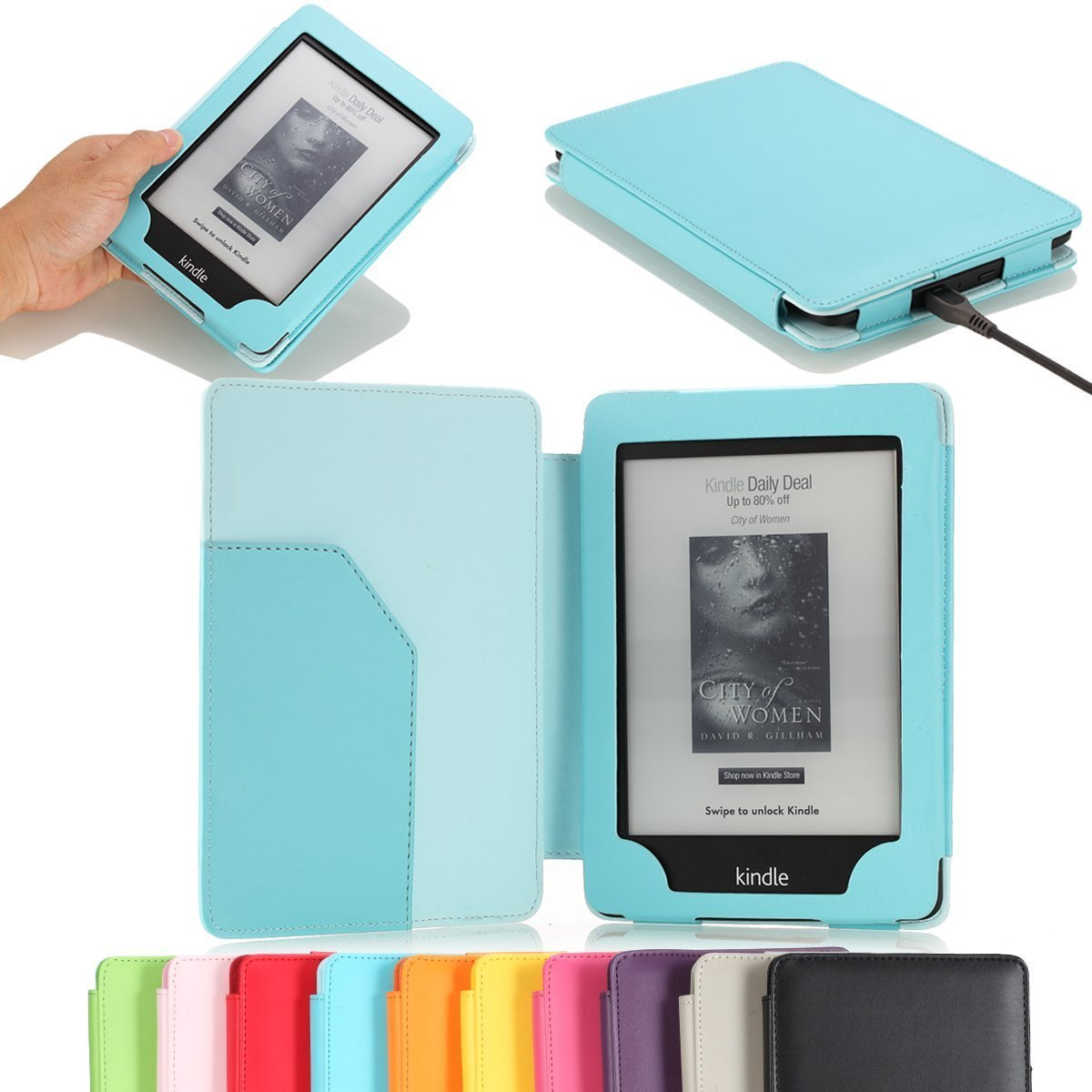 Kindle Paperwhite Moko Cover - The Book Nut: A Book Lover's Guide