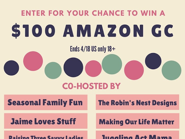 $100 Amazon Gift Card Giveaway [ends 4/18/16] + Spring Goals