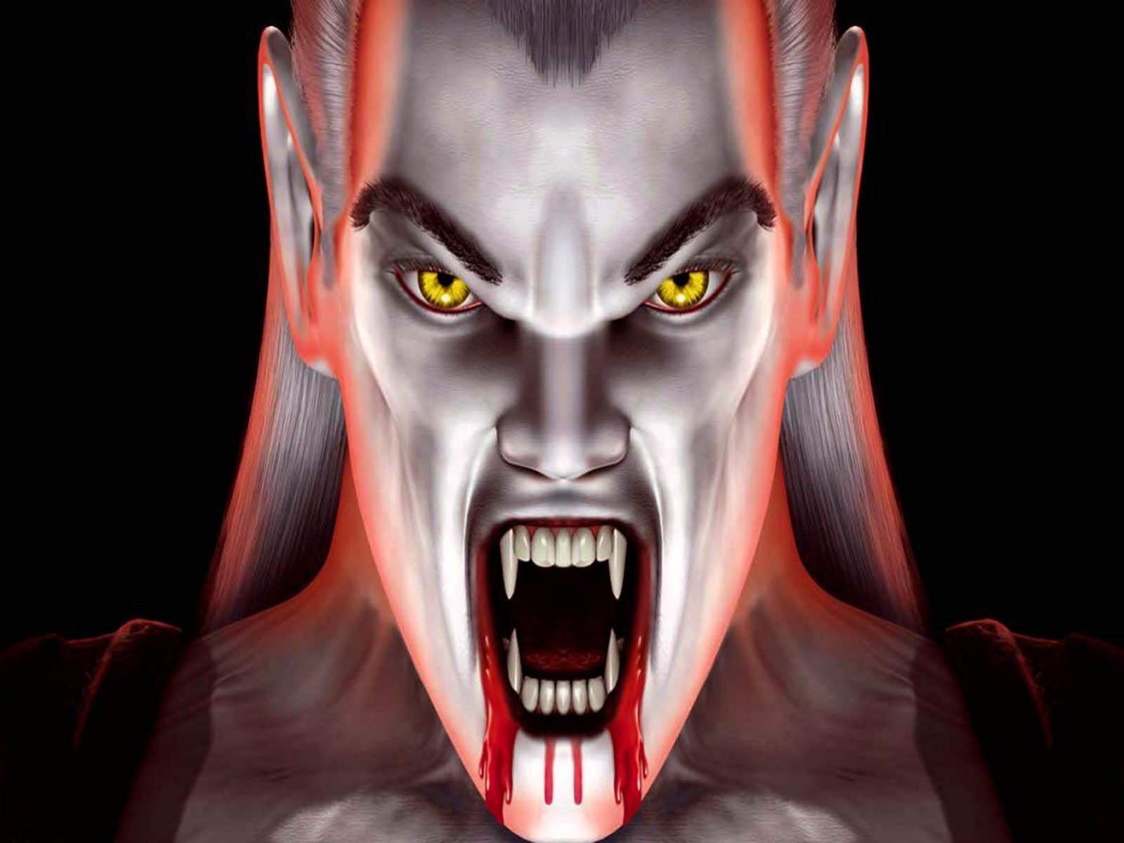 Wallpapers 3d Horror Vampire Wallpaper
