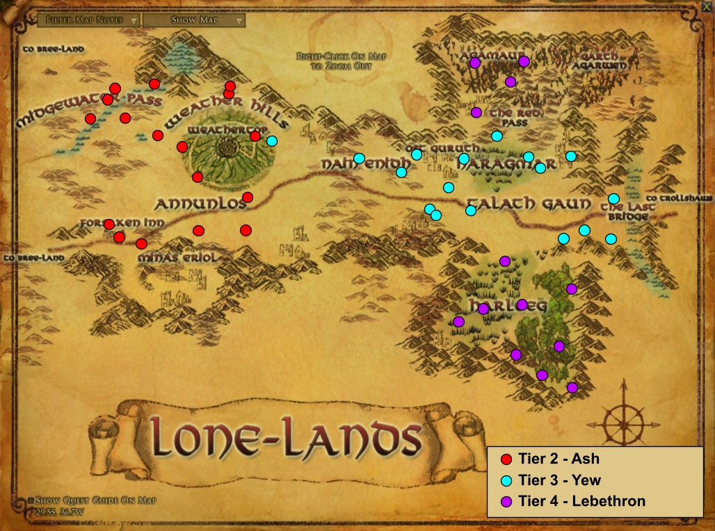Lord Of The Rings Online Yew Branches