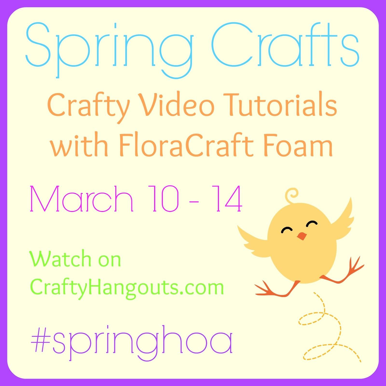 springcraftvideos Ruffle Flower Spring Topiary 5