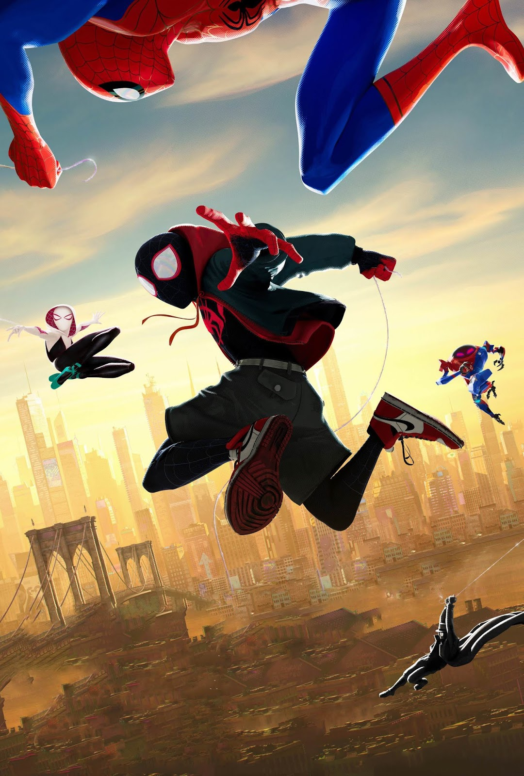SPIDER-MAN: INTO THE SPIDER-VERSE Textless Poster