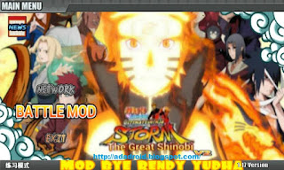 Naruto Storm Great Shinobi v2 Apk