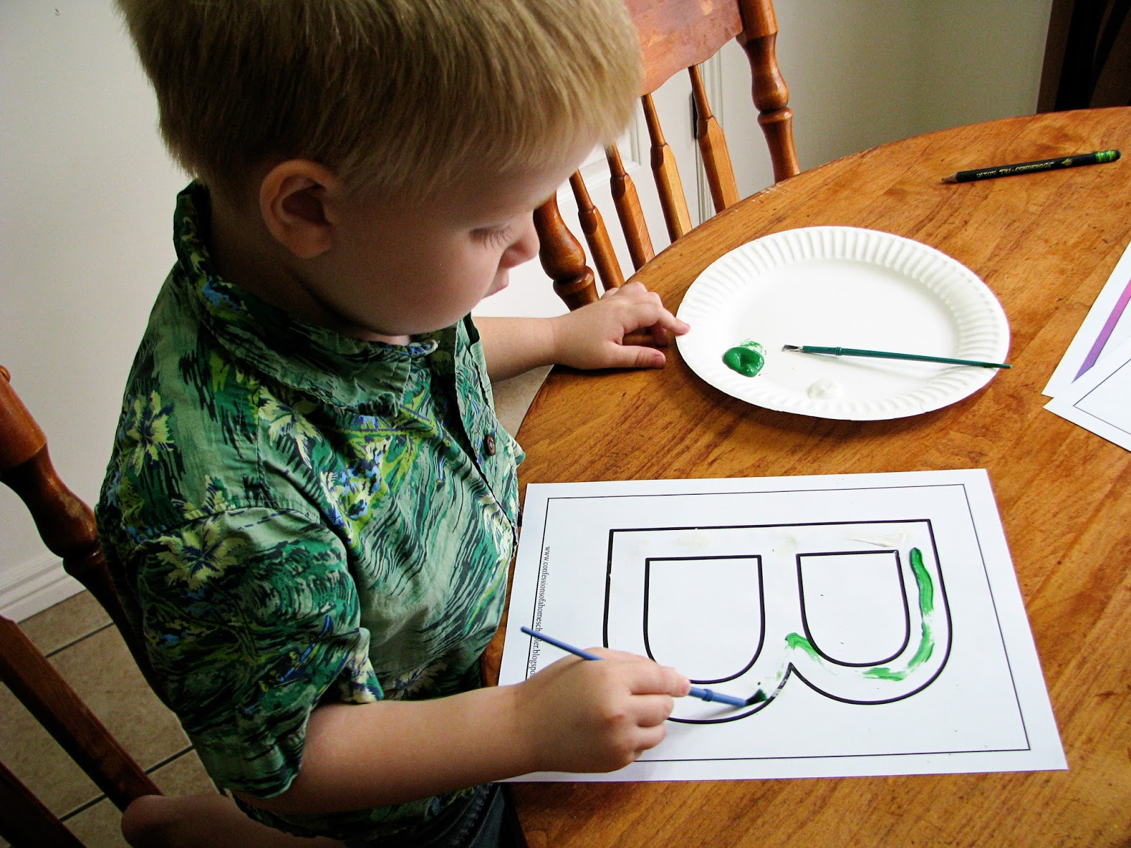 Mommy S Little Helper Letter B As In Butterfly Preschool Theme