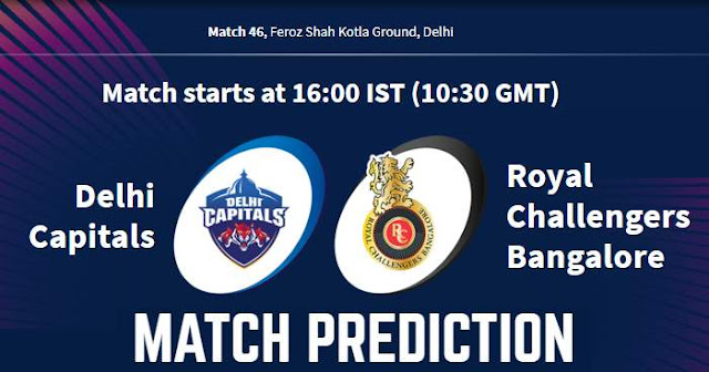 VIVO IPL 2019 Match 46 DC vs RCB Match Prediction, Probable Playing XI Who Will Win