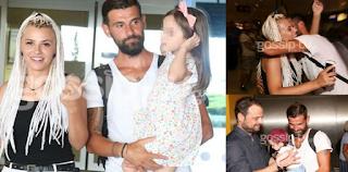 Ο Μιχάλης Μουρούτσος γύρισε Ελλάδα – Τον περίμεναν οι γυναίκες της ζωής του