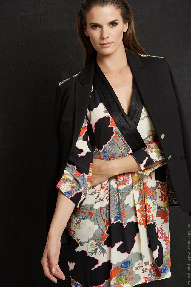 Moda invierno 2016 ropa de mujer Doll Store.