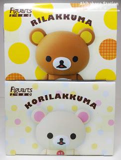 Review de los Figuarts Zero de Rilakkuma y Korilakkuma de San-x - Tamashii Nations