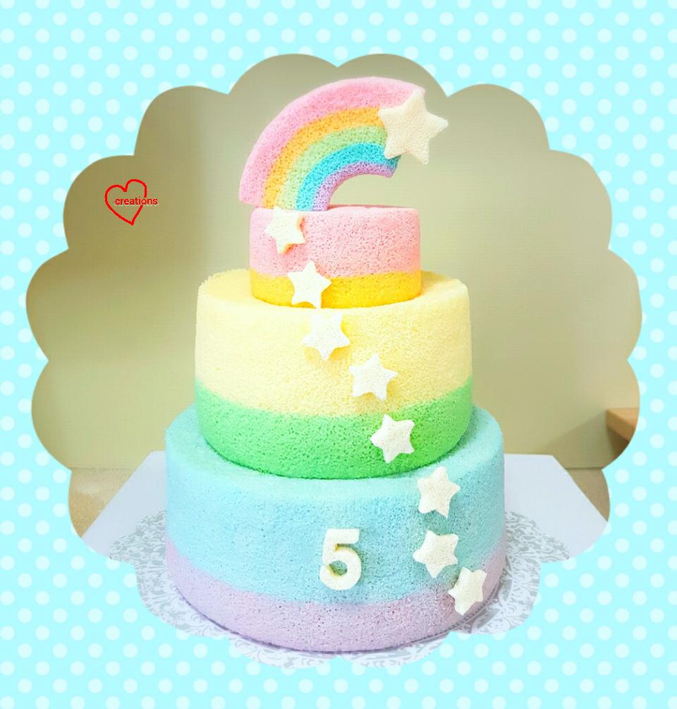 Cake Topper Shooting Stars