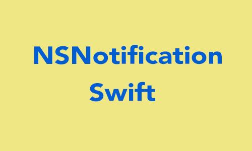 NSNotification & NSNotification Center in Swift  - iOSDevCenter