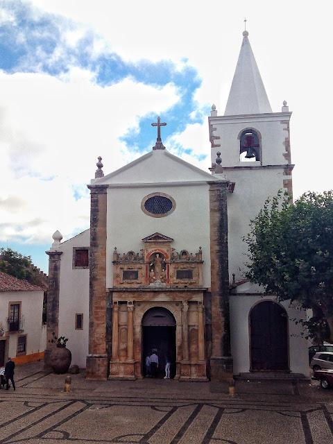 Iglesia Santa Maria Obidos Portugal