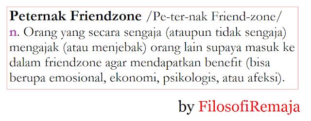 Pengertian peternak friendzone, by filosofi remaja