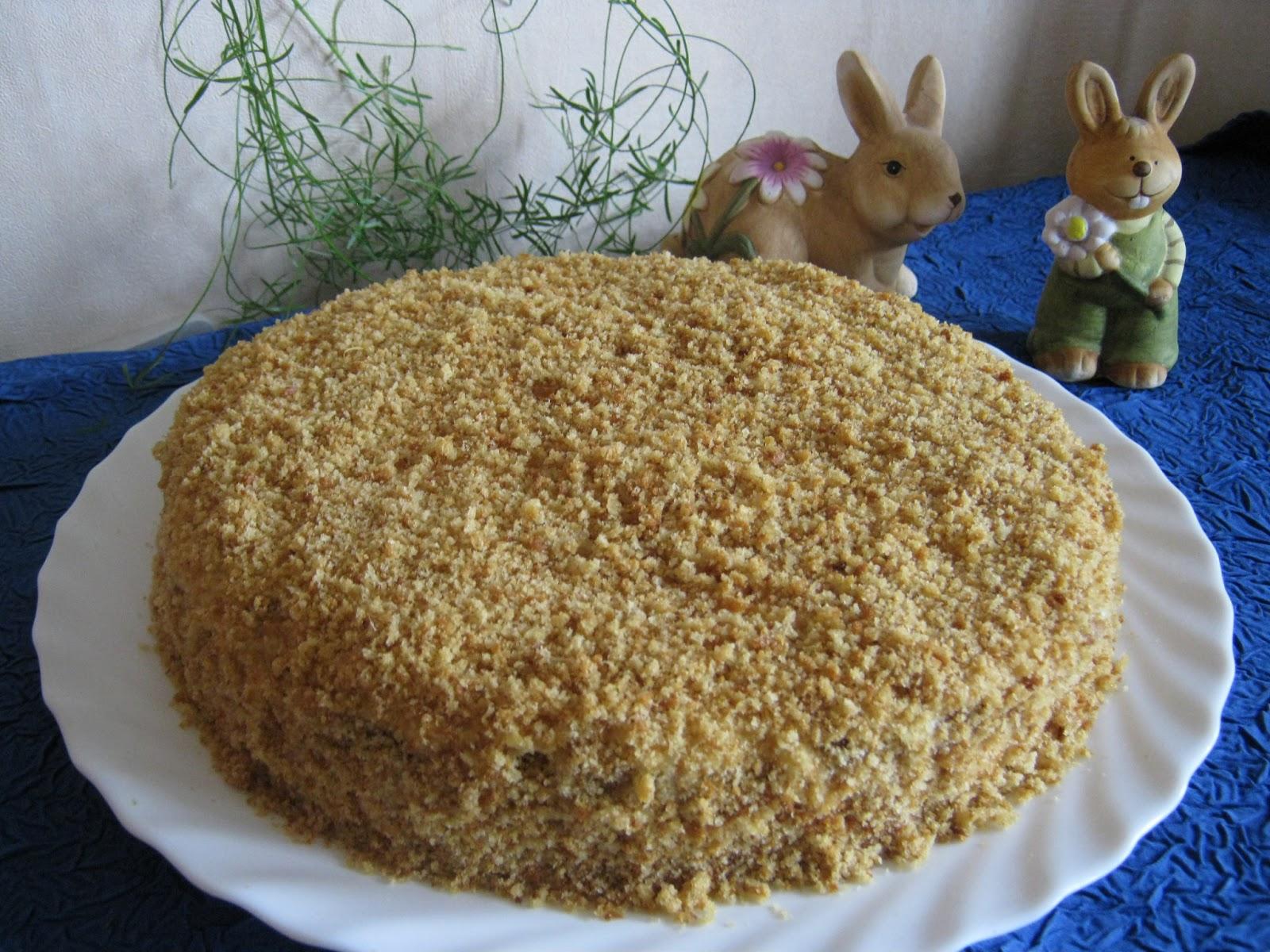 Kirche: Медовый торт с черносливом и
