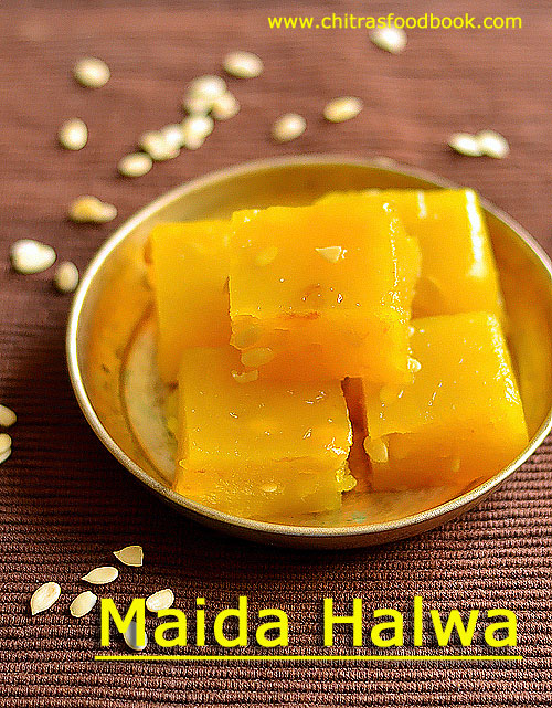 How to make maida halwa