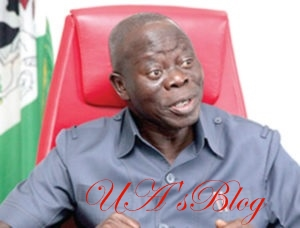 Oshiomhole Raises Alarm: There Is A Gang Up To Remove Me
