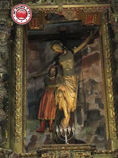 Figura de la iglesia del Santo Cristo en Labastida