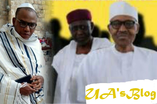 "Nnamdi Kanu Threatens To Release Buhari, ""Jubril's"" DNA Results, Gives FG Condition"