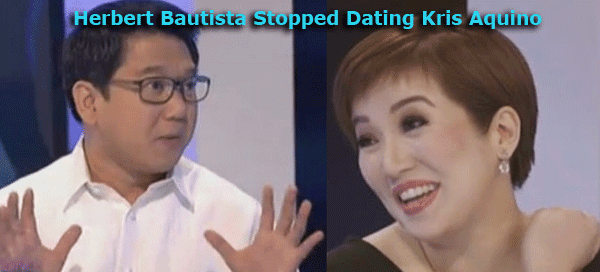 Herbert Bautista Stopped Dating Kris Aquino