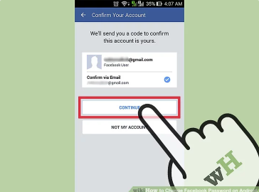 How to Change Facebook Password on Android