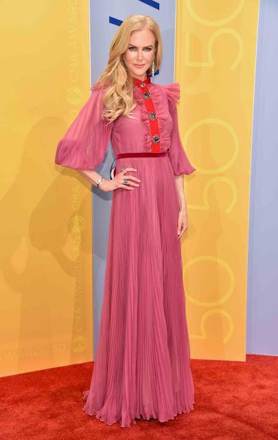 CMA, Nicole Kidman, red carpet