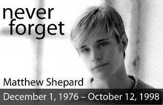 Matthew Shepard - NEVER FORGET