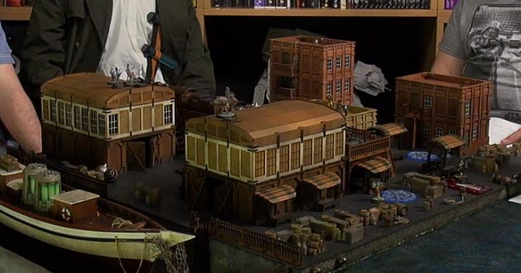 Tales Of A Tabletop Skirmisher Building A Dockside Board