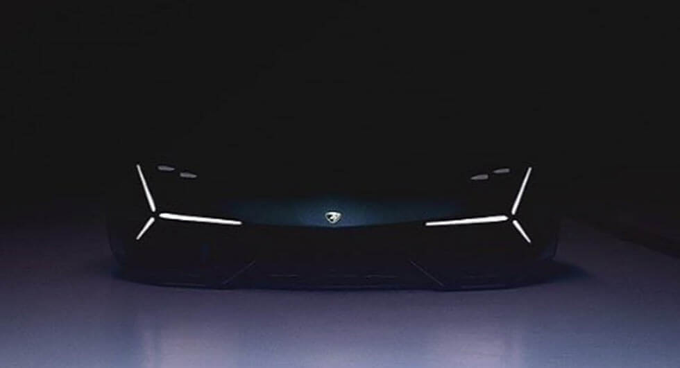 New Lamborghini Concept Teased Could Preview The Aventador