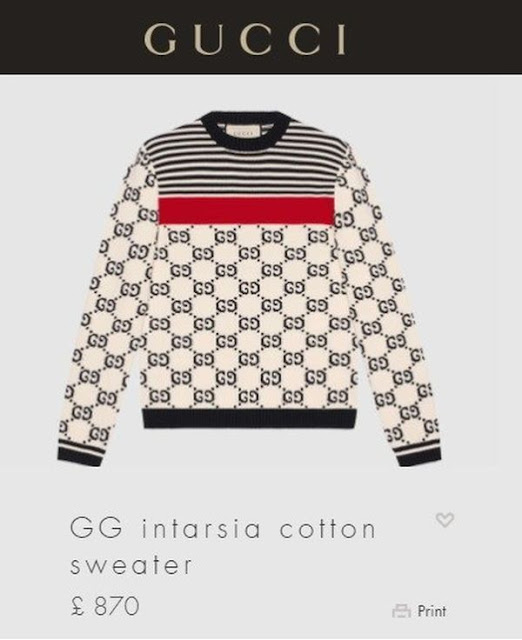 90e3a1aab78 See The Price Of The Gucci Sweater   Gucci Pant Wizkid Rocks To ...