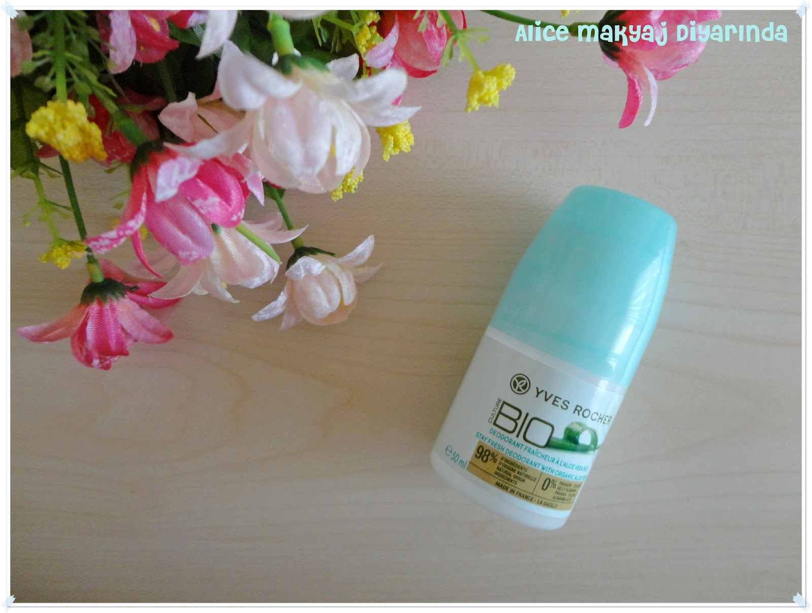 Yves Rocher Bio Organik Roll On