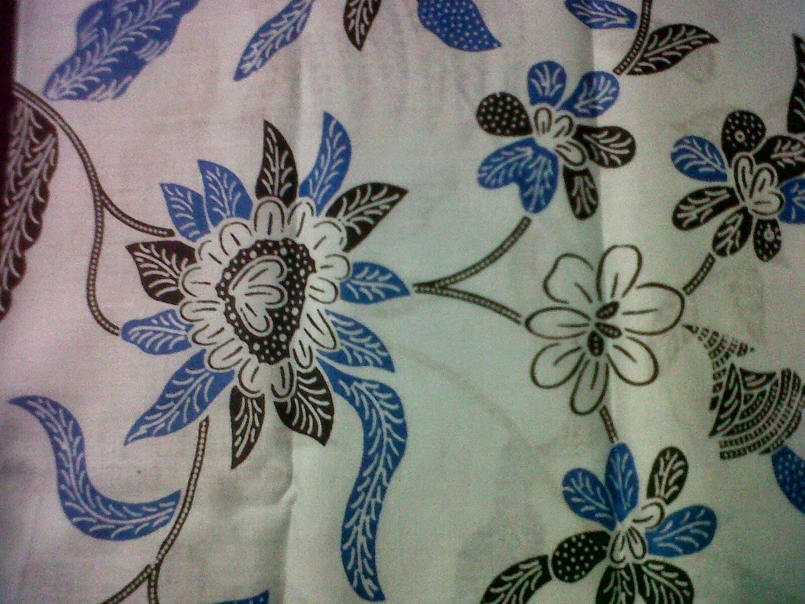 10 Motif Batik Bunga Terbaru - Batik Indonesia