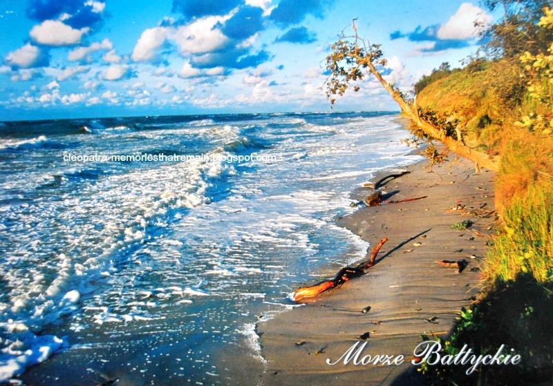 Morze Bałtyckie widokówka