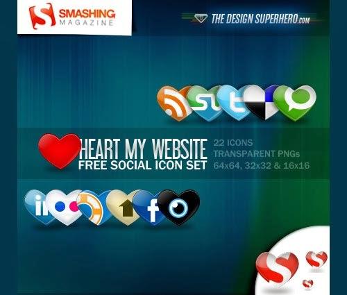Heart: Free Social Icon Set