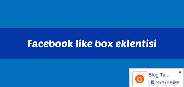 Sayfa ile hareket eden Facebook beğen (like box) eklentisi