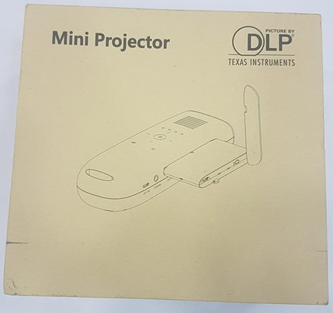 Wifi HD projector with battery backup
