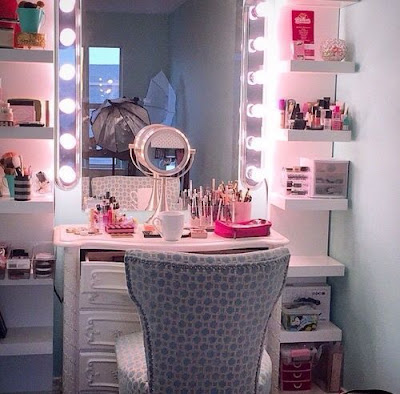 Modern makeup room designs ideas organization for homes 2019