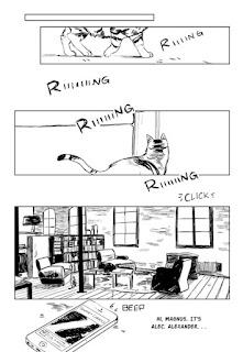 Resultado de imagen de las cronicas de magnus comic