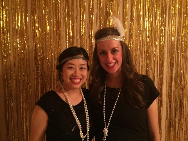 Gatsby party, goodbye roaring 20s, hello 30