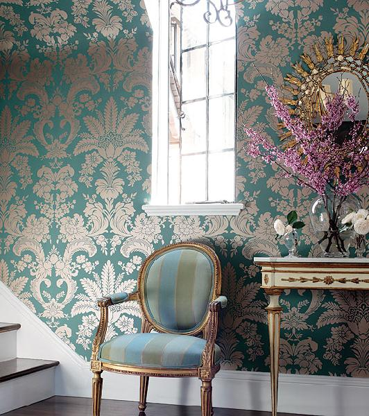 bunnatine dreams metallic wallpaper