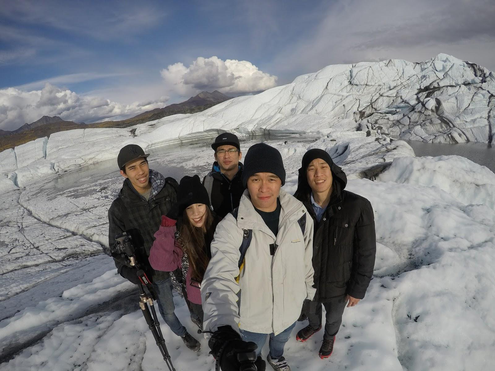third year WAT Matanuska Glacier