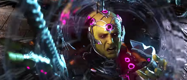 Injustice 2 presenta el malvado plan de Brainiac con Alianzas Rotas 5