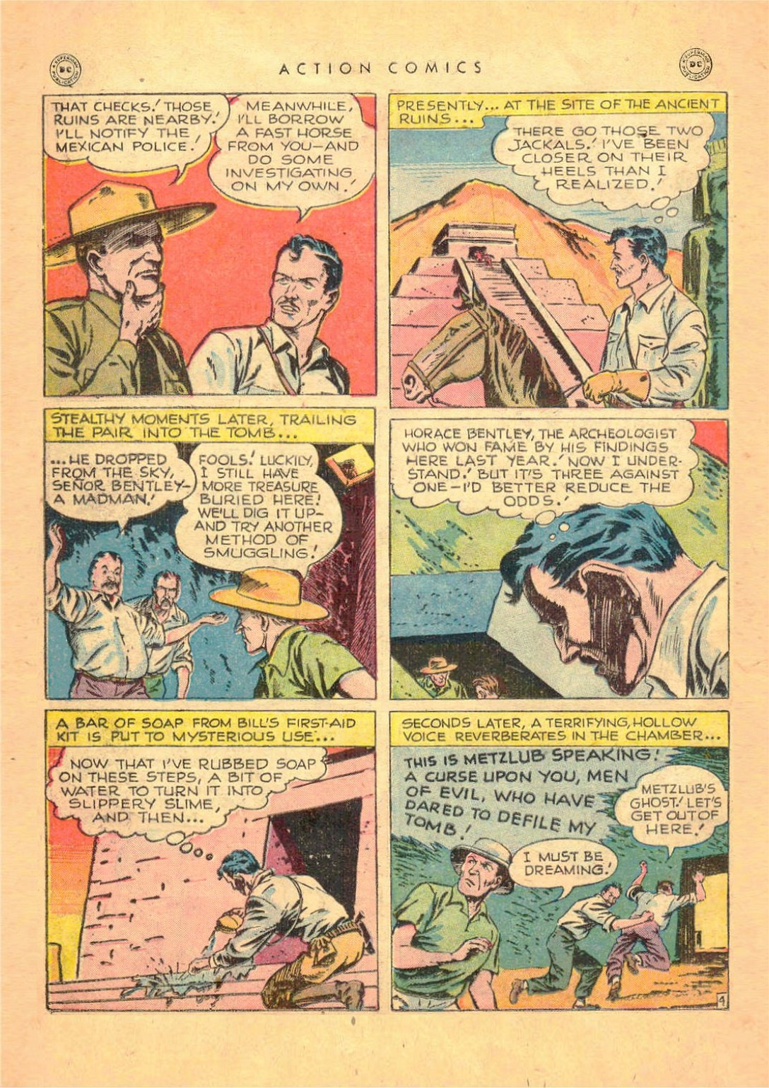 Read online Action Comics (1938) comic -  Issue #124 - 38