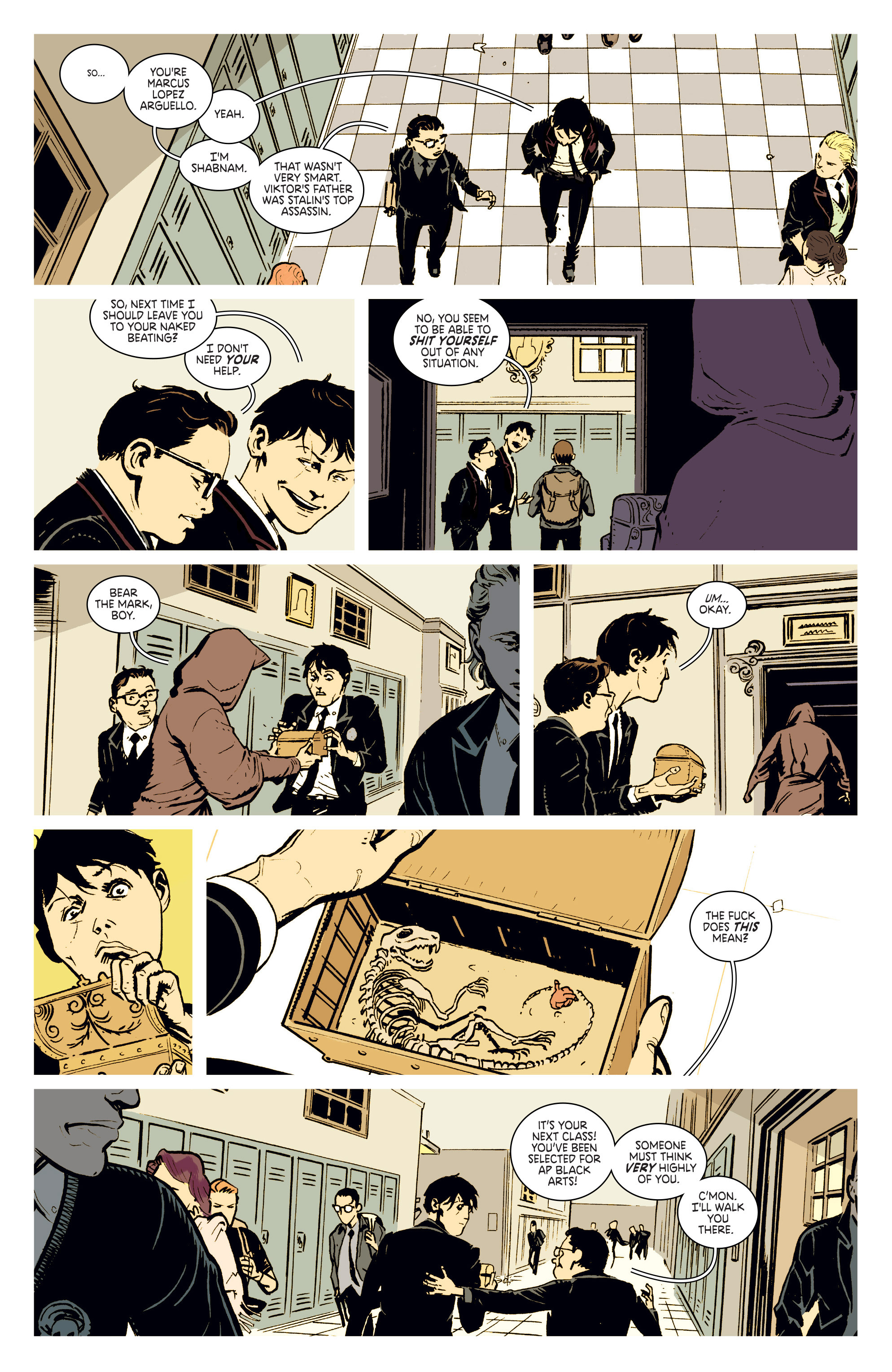 Read online Deadly Class comic -  Issue #2 - 20
