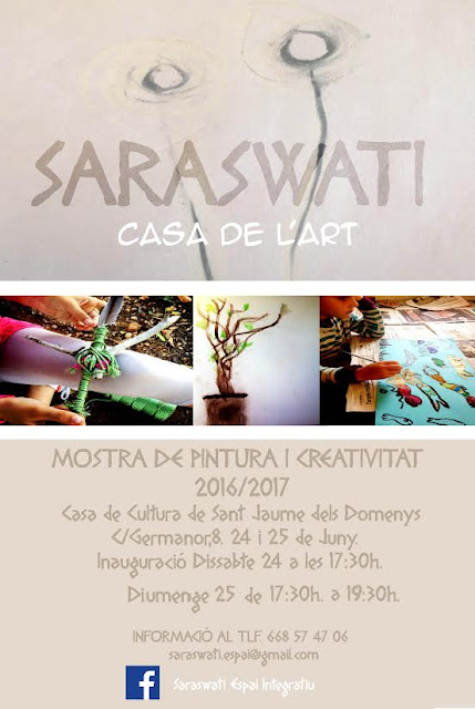 Esguard de Dona - Mostra de Pintura i Creativitat 2017 - Saraswati - Sant Jaume dels Domenys