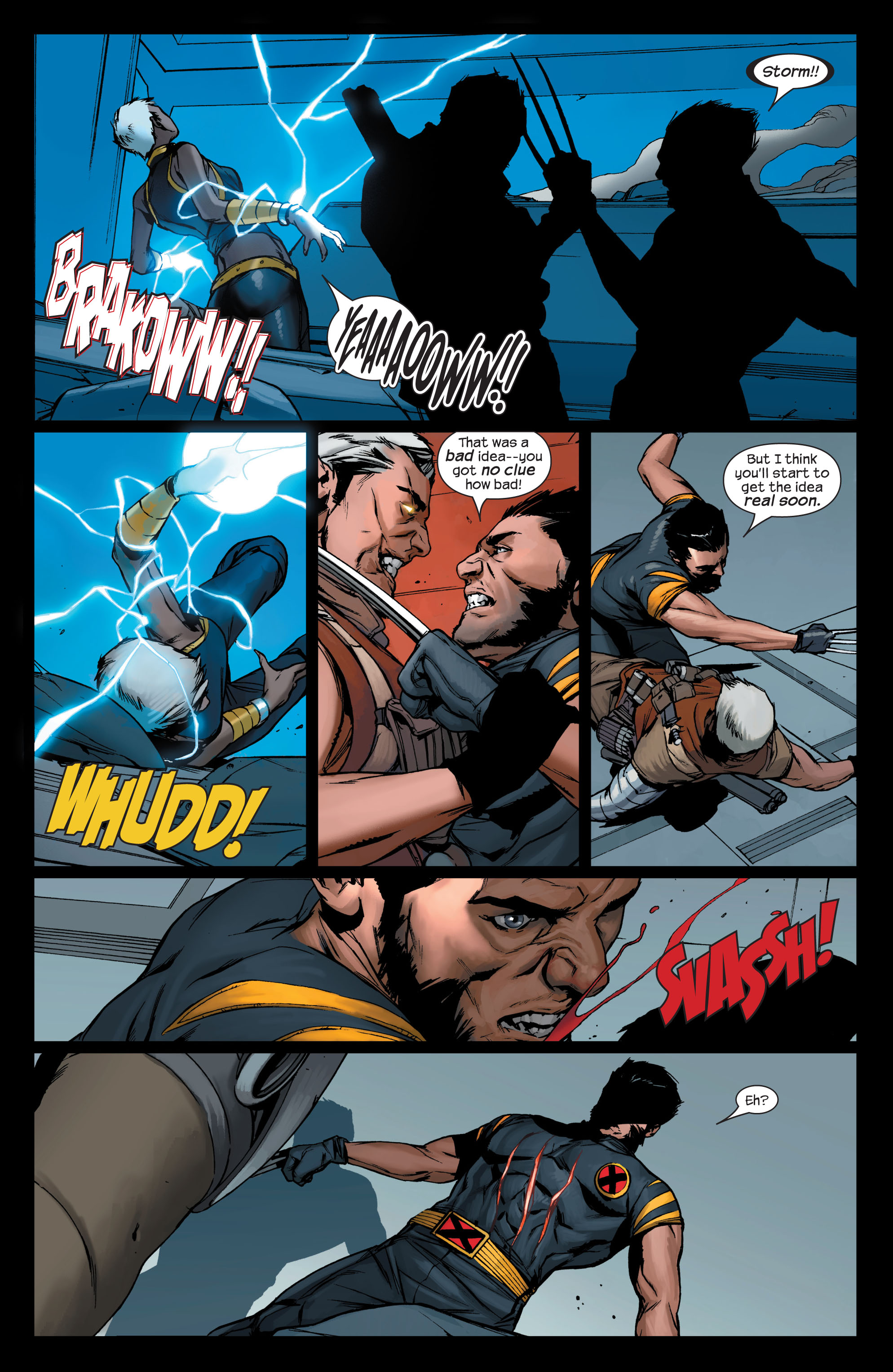 Read online Ultimate X-Men comic -  Issue #75 - 22