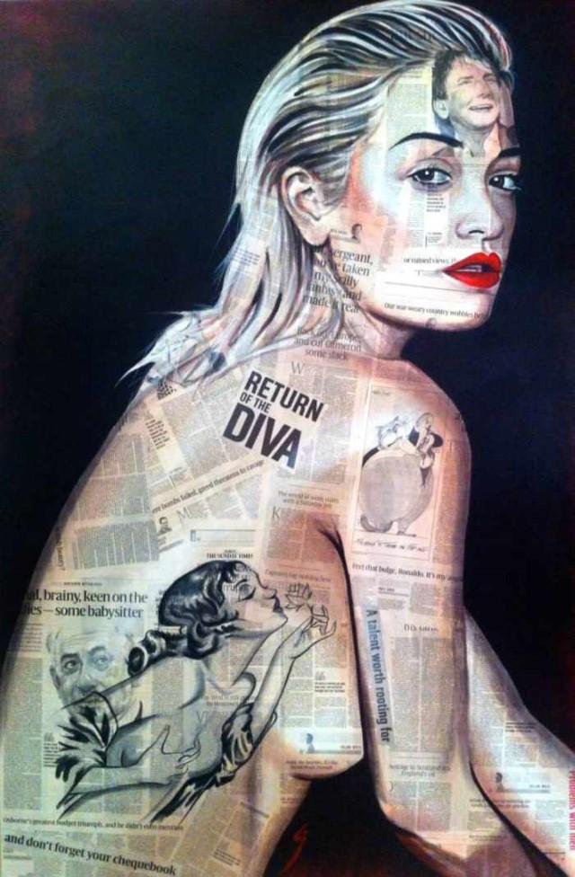 Британский профессиональный художник. Conrad Crispin Jones