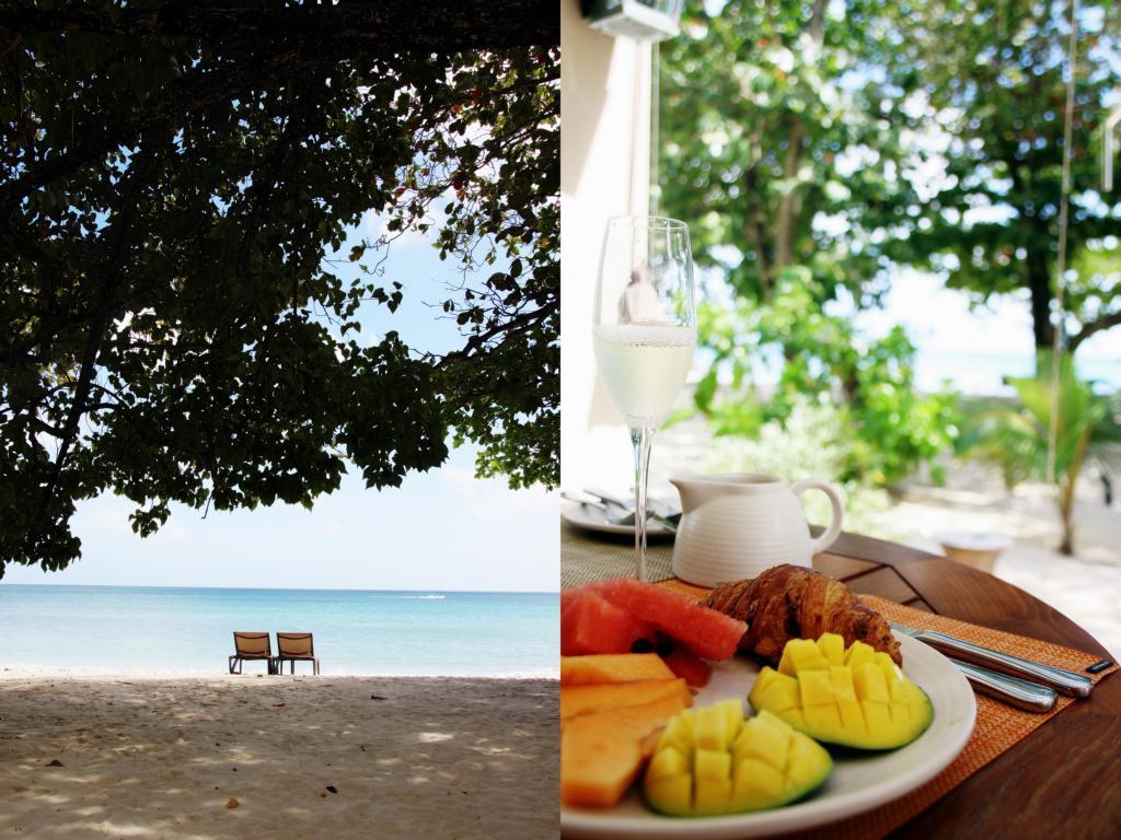 Beau Vallon Beach und Frühstücksbuffet im Resort