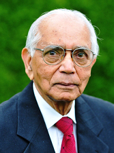 C.R.Rao was born on sept. 10, 1920 at Hadagali in Karnataka. After passing M.A. in Mathematics, he took up statistics as his field of work. He first caught the attention of the world of statistics when in 1945 he put forward the theory of estimation. The theory enables one to find an unknown quantity from a pile of data.