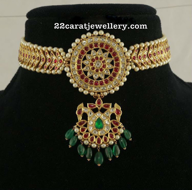 Kundan Pearl Necklace
